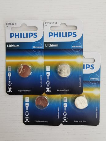 Батарейка Philips Lithium CR1632 BLI 1 CR1632/00B