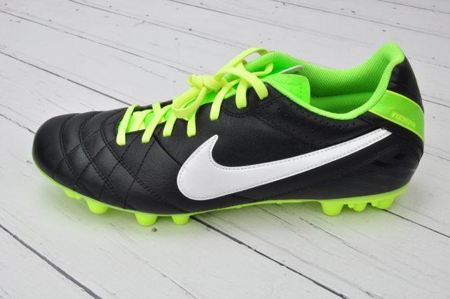 Buty sportowe do piłki nożnej korki Nike nowe czarne
