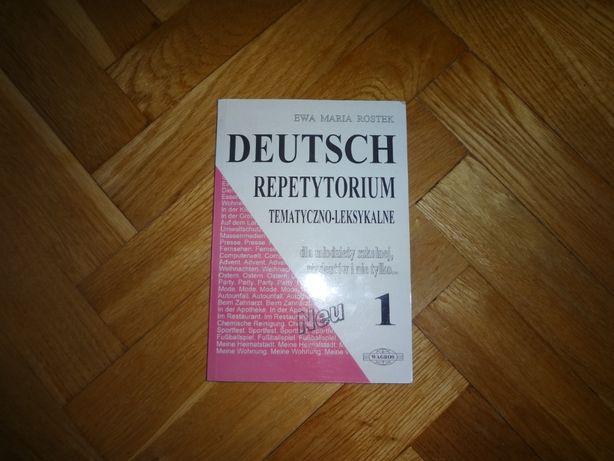Repetytorium tematyczno-leksykalne 1 język niemiecki-matura