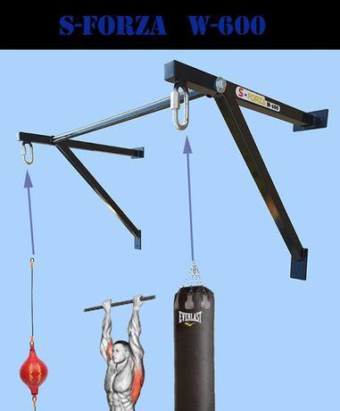 saco de boxe suporte duplo - barra de elevações -crossfit