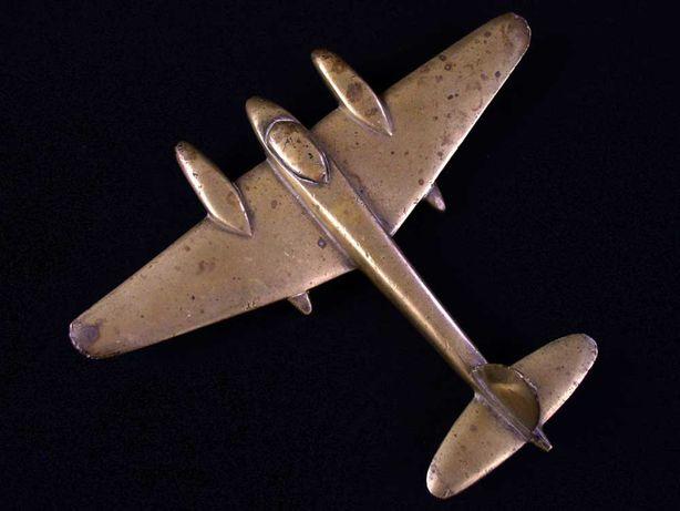 MOSQUITO - mosiężny model samolotu z okresu II WŚ