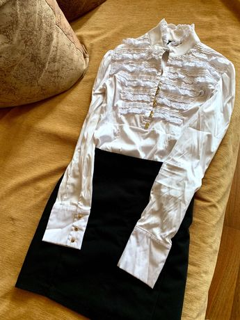 Комплект юбка с блузкой