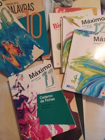 Livros escolares 10' 11' 12' anos