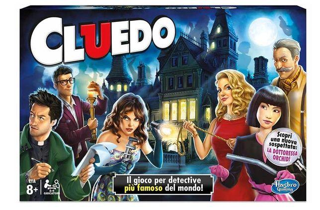 Hasbro Gra CLUEDO Odkryj Zbrodnię Włoska