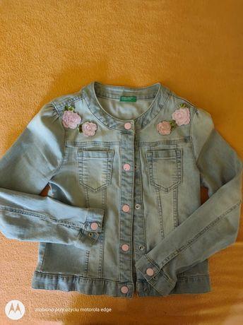 Kurtka jeansowa firmy United Colors Of Benetton