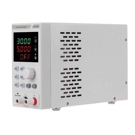 Zasilacz laboratoryjny 230V 0-30V 0-10A, programowalny. NOWY