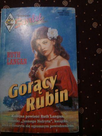 "90. ,, Gorący Rubin"" książka romans"