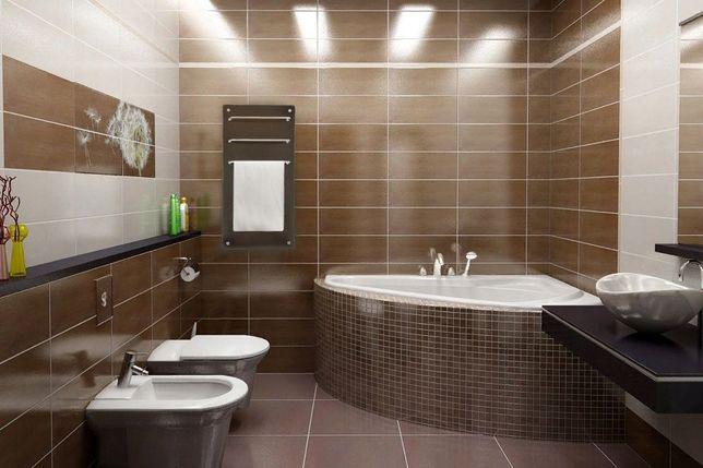 Укладка плитки, перепланировка, ремонт ванных комнат.