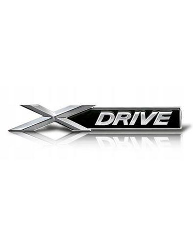 Nowy Emblemat XDrive BMW Znaczek logo 4x4 X3 X5 F30 F31 M power Pakiet