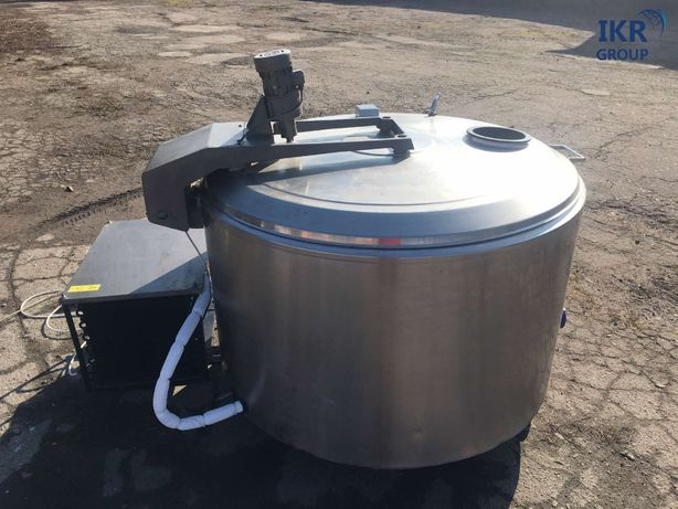 Охладитель молока Б/У Alfa Laval на 600 литров. Молокоохладитель. Танк