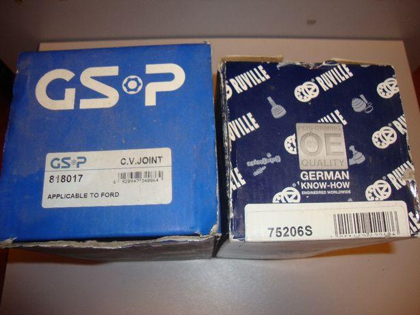 шрус наружный GSP 818017 и RUVILLE 75206S FORD ESCORT,FIESTA,ORION