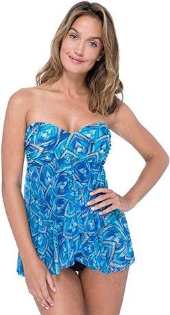 Дизайнерский купальник-платье Premium GOTTEX, р.S