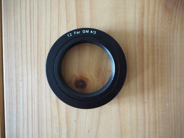 Pierścień T2 (M42x0,75) / Olympus E (do lustrzanek Olympus)