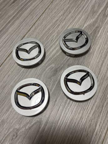 Заглушки на литые диски Mazda