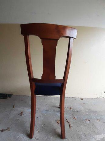 7 cadeiras em madeira excelente  -cerejeira