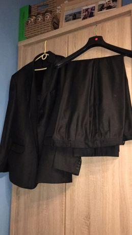 Garnitur marynarka + spodnie duży rozmiar XXL stan idealny