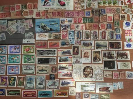Почтовые марки,коллекция многих стран