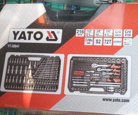 Набор головок ключів рожкових Yato 216 YT-38841
