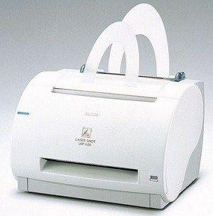 Impressora Canon Laser Shot LBP-1120 - preto e branco, Laser