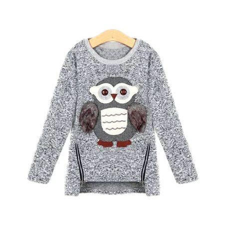 Теплый свитер на девочку, теплий светр на дівчинку, рр.122-158