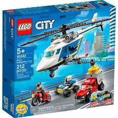 Lego city 60243 погоня на полицейском вертолете