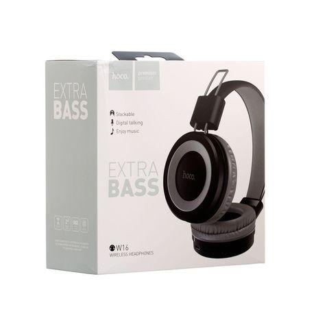 Бездротові Навушники Hoco W16 Motion Bluetooth ORIGINAL Сірий