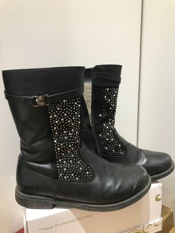 Buty dziewczęce Cocodrillo rozmiar 33 zima, ocieplane