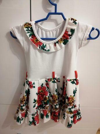 Śliczna sukienka rozmiar 80