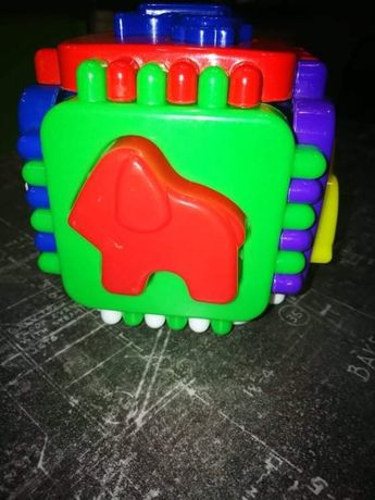 Кубик сортер с животными