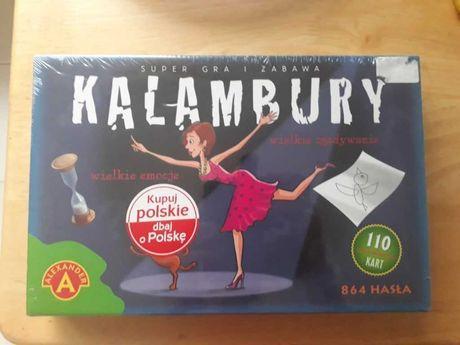 KALAMBURY -nowa w folii. Fajna rodzinna gra+ gratis
