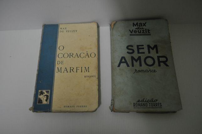 2 Livros Vinatage de Max du Veuzit