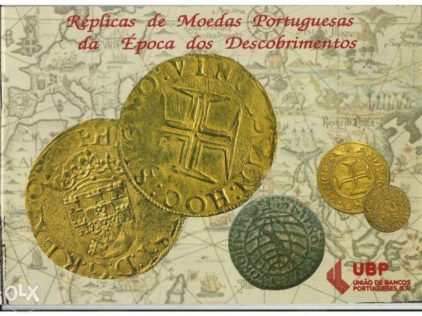 Réplica moedas portuguesas descobrimentos edição da ubp