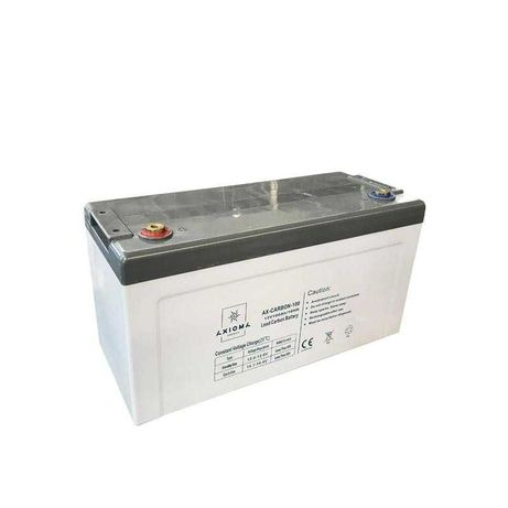 Аккумулятор гелевый 100Ач 12В Axioma AX-Carbon-100 свинцово-углеродный