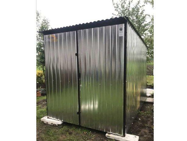 Garaz blaszak/garaż blaszany/domek narzędziowy/magazynek ogrodowy 2x3