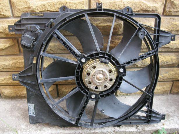 Вентилятор радиатора охлаждения Renault Kangoo Clio