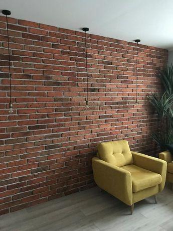 Stara Cegła Dekoracyjna Kolor Naturalny , Płytki ceglane retro ściana