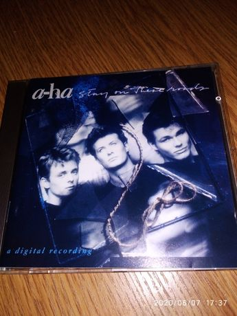CD A-HA - stay on these roads (new wave, synth pop, дискотека 80х)