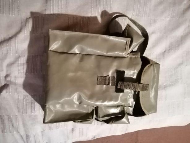 Polska torba wojskowa na maske gazową MP 5 pokrowiec plecak