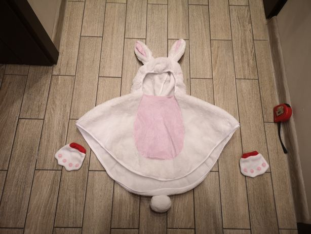 Strój królika królik zając roz. 6-12 mies.