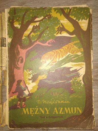 Mężny Azmun - D. Nagiszkin - ANTYK - 1951 - Biały Kruk - Unikat