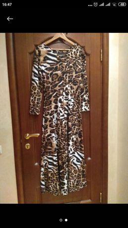Платье Леопард М