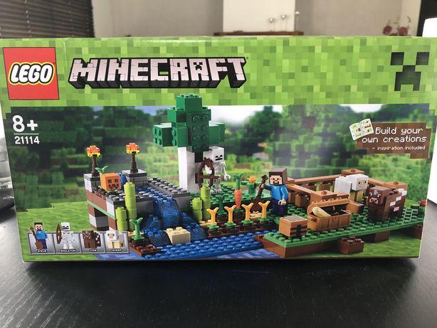 NOWE Lego Minecraft 21114