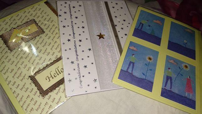 канцтовары набор 3 открытка чистые британия