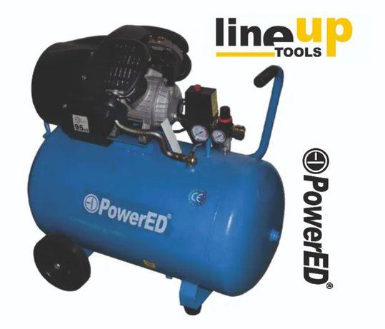 Compressor 100Lt em V 3HP POWERED - C/ IVA - MEGA CAMPANHA