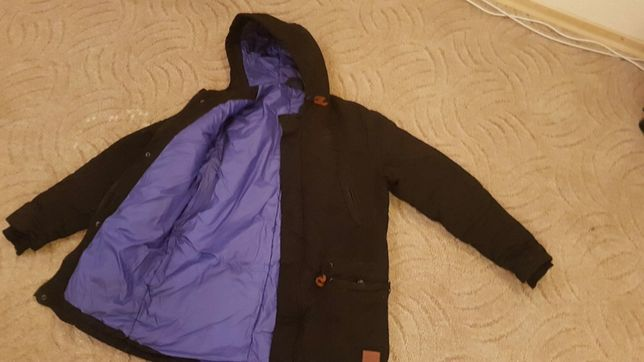 Куртка пуховик подростковая одежда для мальчиков