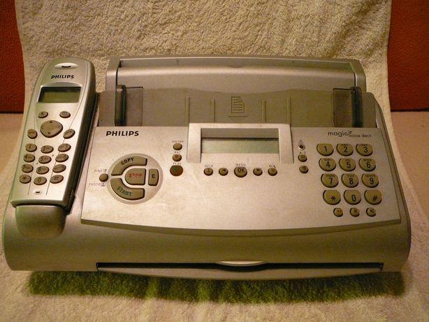 telefon/telefax bezprzewodowy marki philips