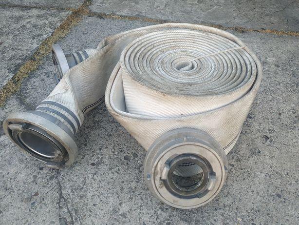Wąż strażacki 110 z redukcją