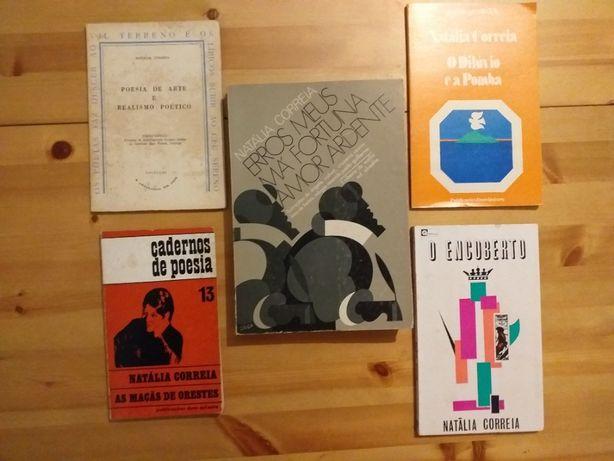Natália Correia- livros-1º edições