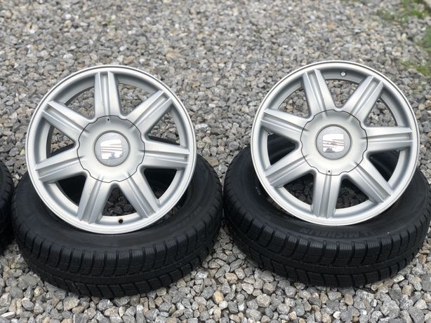 "Felgi aluminiowe 16"" 5x100 6,5J ET43  SEAT SKODA VW AUDI"