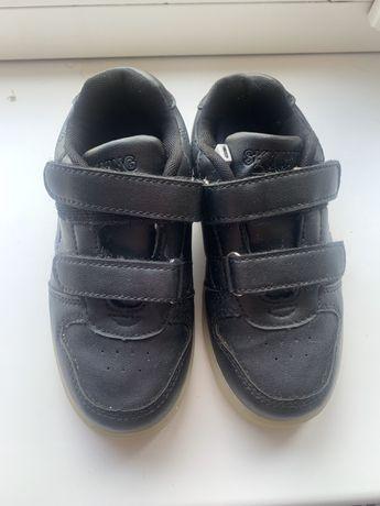 Кросівки з LED-підсвіткою, 28р нат.шкіра